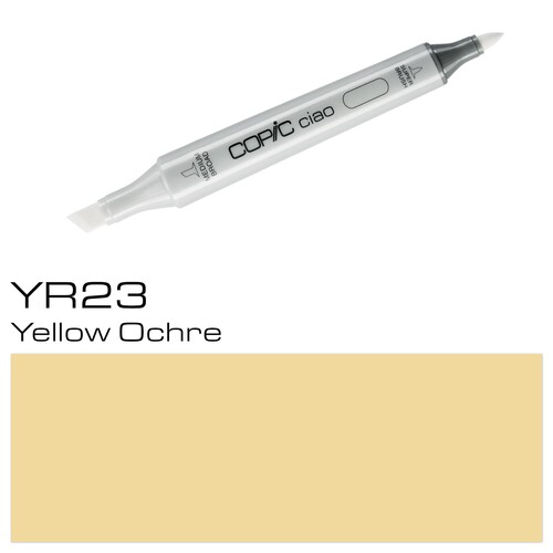 Copic Ciao Typ YR23 Rund- und Keilspitze yellowish shade Holtz 2207583 Produktbild Additional View 1 L