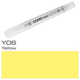Copic Ciao Typ Y06 Rund- und Keilspitze yellow Holtz 2207571 Produktbild