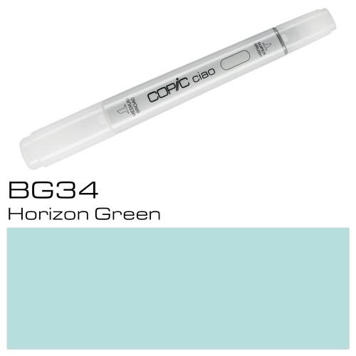 Copic Ciao Typ BG34 Rund- und Keilspitze horizon green Holtz 22075219 Produktbild