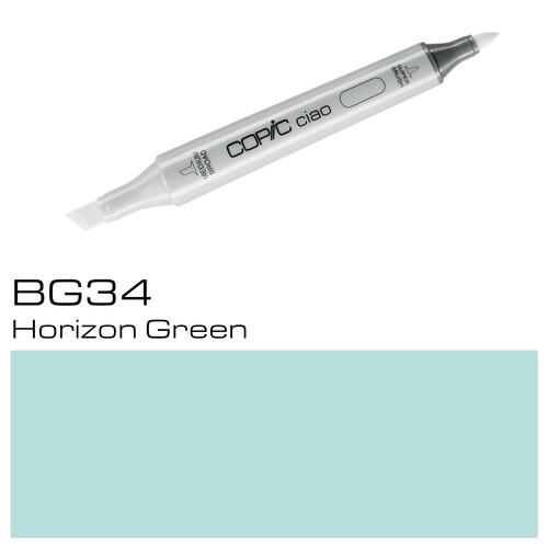 Copic Ciao Typ BG34 Rund- und Keilspitze horizon green Holtz 22075219 Produktbild Additional View 1 L