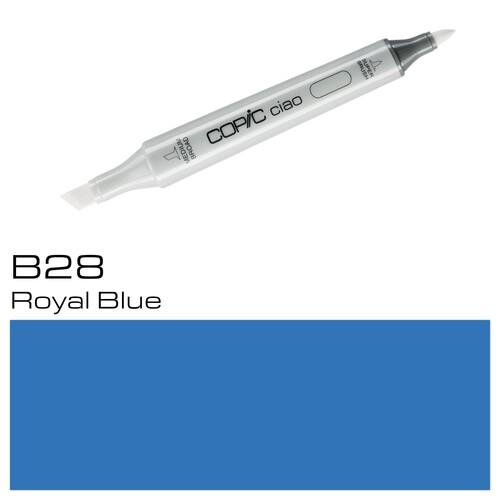 Copic Ciao Typ B28 Rund- und Keilspitze royal blue Holtz 22075305 Produktbild Additional View 1 L