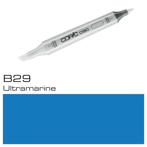 Copic Ciao Typ B29 Rund- und Keilspitze ultramarine Holtz 2207525 Produktbild Additional View 1 L