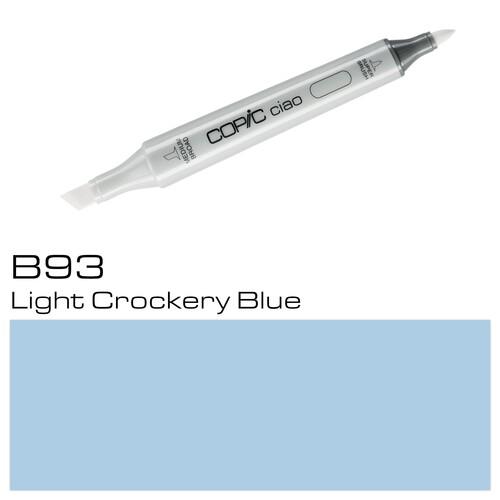 Copic Ciao Typ B93 Rund- und Keilspitze light crockery blue Holtz 22075278 Produktbild Additional View 1 L
