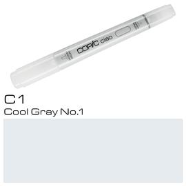 Copic Ciao Typ C1 Rund- und Keilspitze cool gray No.1 Holtz 2207512 Produktbild