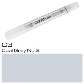 Copic Ciao Typ C3 Rund- und Keilspitze cool gray No.3 Holtz 2207513 Produktbild