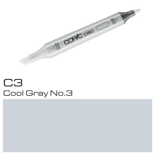 Copic Ciao Typ C3 Rund- und Keilspitze cool gray No.3 Holtz 2207513 Produktbild Additional View 1 L