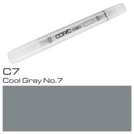 Copic Ciao Typ C7 Rund- und Keilspitze cool gray No.7 Holtz 2207515 Produktbild