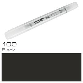 Copic Ciao Typ 100 Rund- und Keilspitze black Holtz 2207517 Produktbild