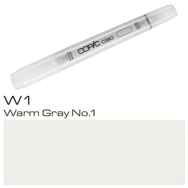 Copic Ciao Typ W1 Rund- und Keilspitze warm gray No.1 Holtz 22075325 Produktbild