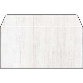 Briefumschläge Inkjet+Laser+Kopier DIN lang 90g Holz beige Sigel DU242 (PACK=50 STÜCK) Produktbild