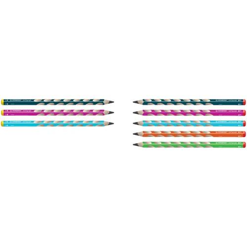 Bleistift EASYgraph HB 3,15mm Rechtshänder blau Stabilo 322/02-HB Produktbild Additional View 1 L