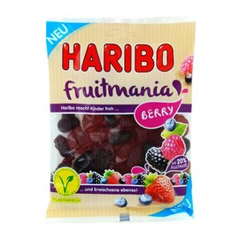 Haribo Beutel Fruchtgummi Fruitmania Berry (PACK=175 GRAMM) Produktbild