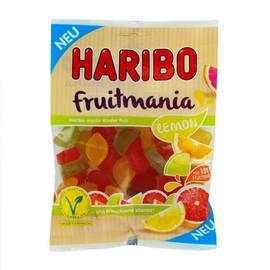 Haribo Beutel Fruchtgummi Fruitmania Lemon (PACK=175 GRAMM) Produktbild