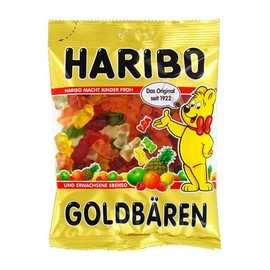 Fruchtgummi Goldbärchen Haribo (PACK=200 GRAMM) Produktbild