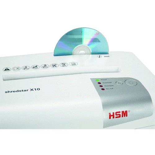 Aktenvernichter shredstar X10 für 10Blatt 4,5x30mm Partikelschnitt HSM 1045111 (Sicherheitsstufe P-4) Produktbild Additional View 5 L