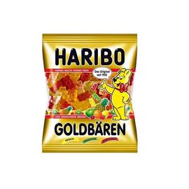 Haribo Beutel Fruchtgummi Goldbären (1 KARTON = 30 PACK á 100 GRAMM) Produktbild