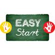 Spitzer einfach ohne Behälter EASYergo 3.15 keilform blau für Linkshänder Stabilo 4571/2 Produktbild Additional View 3 S