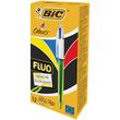 Vierfarb-Kugelschreiber 4 Colours 0,4mm/neongelb 0,6mm BIC 933948 Produktbild Additional View 2 S