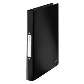 Ringbuch Solid A4 2Ringe Ringe-Ø25mm bis 190Blatt schwarz PP Leitz 4566-10-95 Produktbild