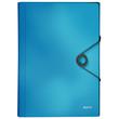 Projektmappe Solid mit Gummizug A4 mit 6 Fächern hellblau PP Leitz 4579-10-30 Produktbild
