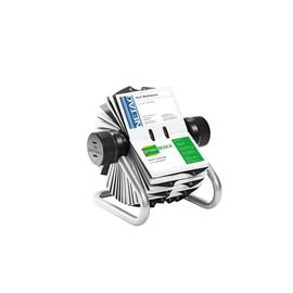 Visitenkarten Rollkartei Visifix mit Register für 400 Karten silber Durable 2481-23 Produktbild