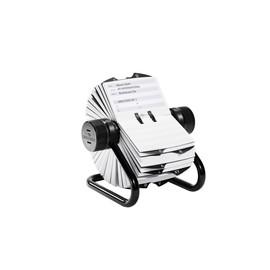 Visitenkarten Rollkartei Telindex mit Register für 500 Karten schwarz Durable 2482-01 Produktbild
