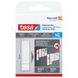 Powerstrips Klebestreifen Tapete & Putz bis 1kg Haftkraft weiß Tesa 77771-00000-00 (PACK=6 STÜCK) Produktbild