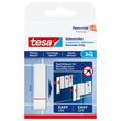 Powerstrips Klebestreifen Fliesen bis 3kg Haftkraft transparent Tesa 77761-00000-00 (PACK=6 STÜCK) Produktbild