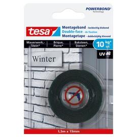 Powerbond Montageband 19mmx1,5m bis 10kg/m Haftkraft transparent Tesa 77748-00000-00 Produktbild