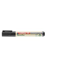 Whiteboardmarker EcoLine 29 1-5mm Keilspitze schwarz trocken abwischbar Edding 4-29001 Produktbild