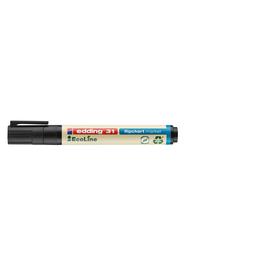 Flipchartmarker EcoLine 31 1,5-3mm Rundspitze schwarz Edding 4-31001 Produktbild