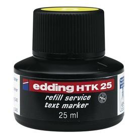 Textmarker-Nachfülltusche EcoLine T25 25ml gelb Edding 4-HTK25005 Produktbild