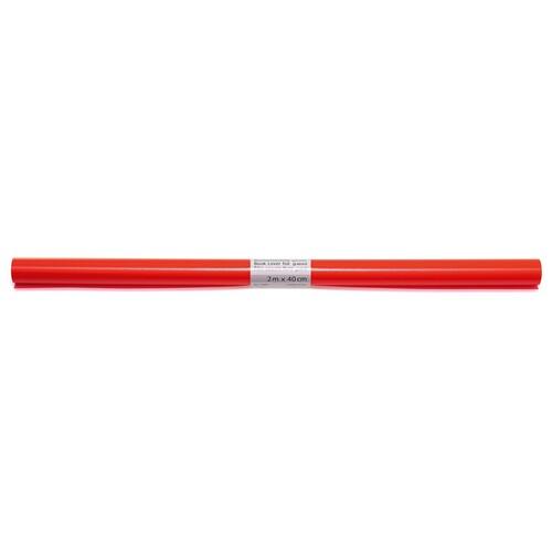 Buchschutzfolie 2mx40cm rot PP Herma 7362 Produktbild