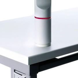 Aufschraubplatte mit Kunststoffgewinde lichtgrau Novus 795+1502+000 Produktbild