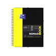 Collegeblock Oxford Student Nomadbook A4+ kariert 4-fach Lochung 80Blatt 90g Optik Paper weiß 400019522 Produktbild