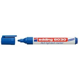 NLS High-Tech Marker 8030 1,5-3mm Rundspitze blau Edding 4-8030003 Produktbild