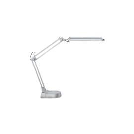 Tischleuchte LED MAULatlantic mit Standfuß silber Aluminium/Metall 9W Maul 82036-95 Produktbild