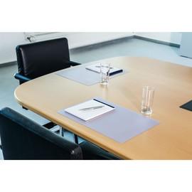 Schreibunterlage DURAGLAS 30x42cm transparent rutschfest blendfrei Durable 7111-19 Produktbild