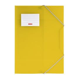 Eckspanner mit 3 Klappen A4 gelb transluzent PP Brunnen 10-4160410 Produktbild