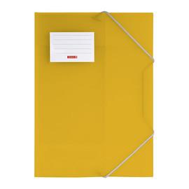 Eckspanner mit 3 Klappen A4 orange transluzent PP Brunnen 10-4160440 Produktbild