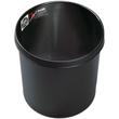 Papierkorb SE 12l schwer entflammbar schwarz Helit H6106395 Produktbild