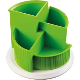 Multiköcher Colours drehbar Durchmesser 150mm/H 112mm apple green  Kunststoff Helit H6390550 Produktbild