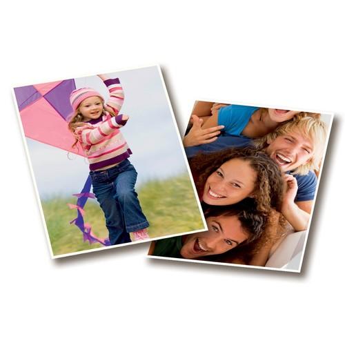 Fotopapier Inkjet Classic 10x15cm 180g weiß glossy Zweckform C2570-100 (PACK=100 BLATT) Produktbild Additional View 1 L
