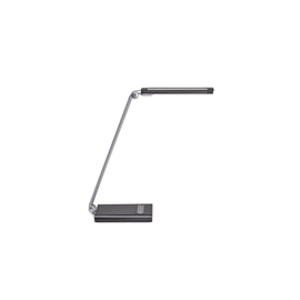 Tischleuchte LED MAULpure mit Standfuß dimmbar silber 10W Maul 82022-95 Produktbild