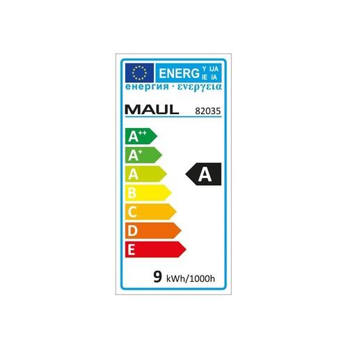 Tischleuchte LED MAULatlantic mit Klemmfuß schwarz 9W Maul 82035-90 Produktbild Additional View 3 L
