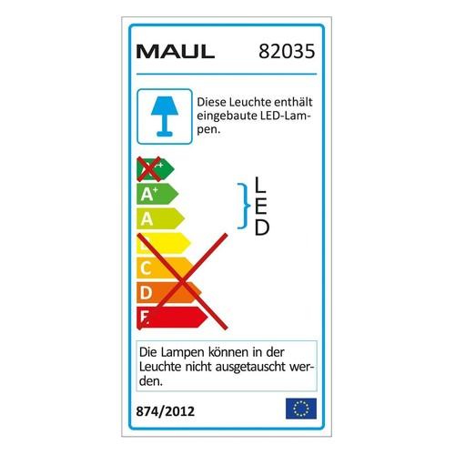 Tischleuchte LED MAULatlantic mit Klemmfuß silber 9W Maul 82035-95 Produktbild Additional View 2 L