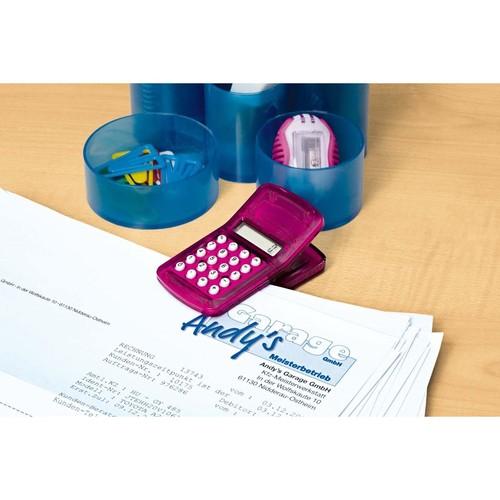 Taschenrechner magnetisch mit Clip sortiert Wedo 6621599 Produktbild Additional View 1 L