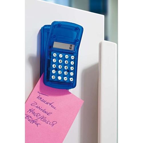 Taschenrechner magnetisch mit Clip sortiert Wedo 6621599 Produktbild Additional View 2 L