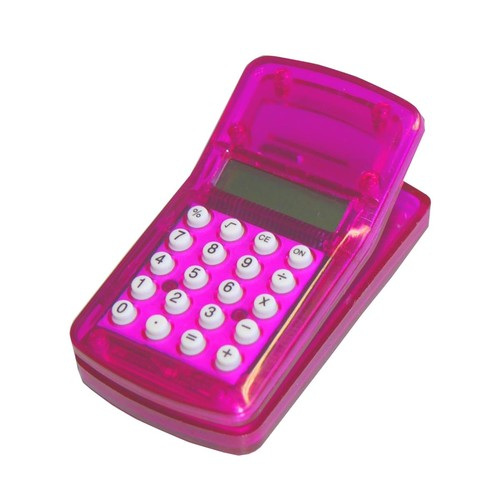 Taschenrechner magnetisch mit Clip sortiert Wedo 6621599 Produktbild