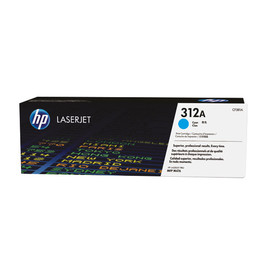 Toner 312A  für Color LaserJet Pro MFP M476 2700Seiten cyan HP CF381A Produktbild